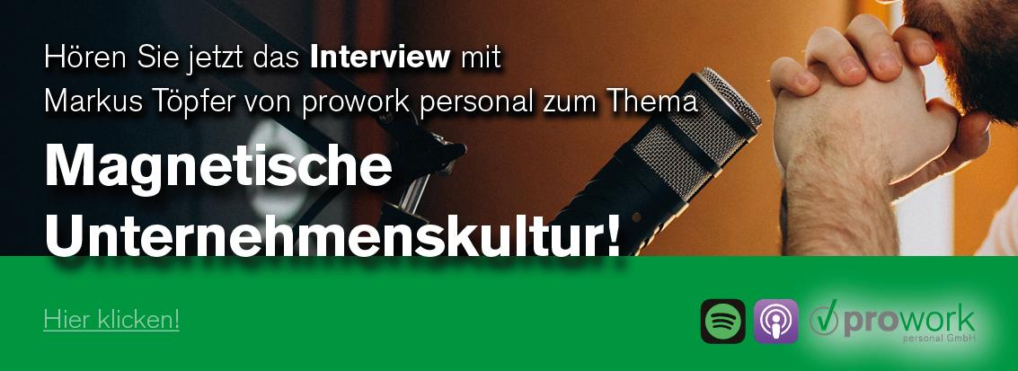 Podcast zum Thema Magnetische Unternehmenskultur