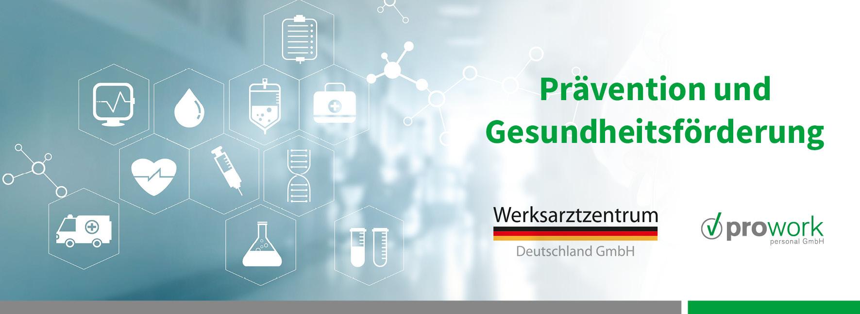 Zusammenarbeit mit dem Werksarztzentrum Deutschland (WAZ)
